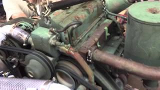 M561 Gama Goat Engine Ground Test