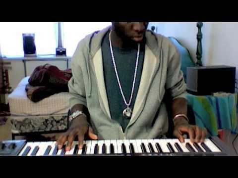 Blingstef making a beat: Zouk Kompa style