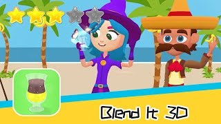 Blend It 3D - SayGames LLC - Walkthrough Don't lose your fingers! Recommend index three stars