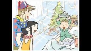 七田式英語教材「パルキッズキンダー」より日常会話文Keiのサンプル画像...