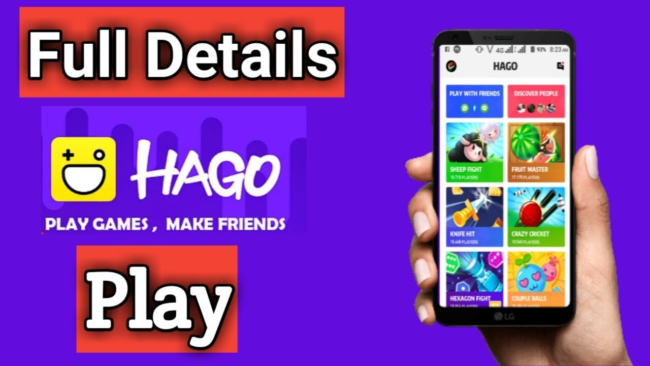 HaGo Best Android Online Gaming App (best multiplayer games android) Voice  Chat with online games
