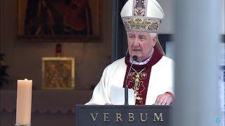 Papieże, a Bitwa Warszawska - frag. hom. Bp R. Kamińskiego (15 VIII 2018)