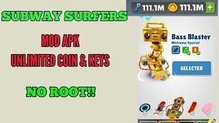 Subway Surfers Mod Apk v1.106.1 (Unlimited coins,Keys & unlocked) Mega Mod last version
