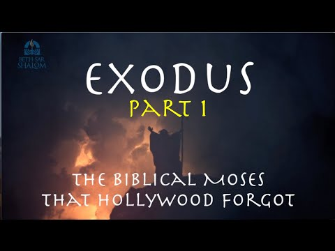 Messianic Jewish Sermon Series Exodus: Part 1 Steven Ger @ Beth Sar Shalom June 16, 2018