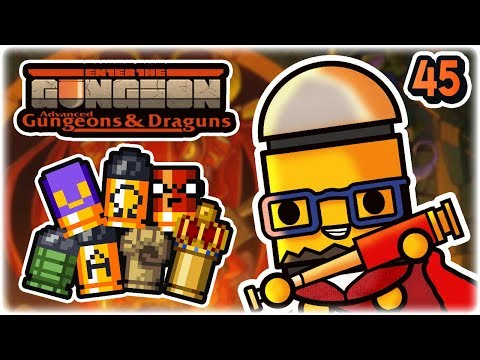 Bullet Modifiers Palooza | Part 45 | Let's Play: Enter the Gungeon Advanced Gungeons and Draguns