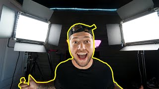 Neewer NL-660 Setup & Review | Best Lighting For YouTube | Three Point Lighting For Video