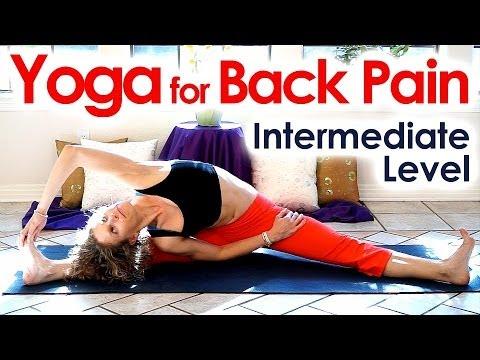 yoga for back pain beginners  intermediate home