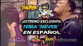 "Saint Seiya /// tema ""Never"" /// español por Mauren y Berioska"