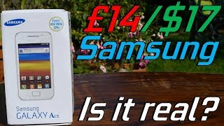 Ordering a Sub $20 Samsung Phone from China?