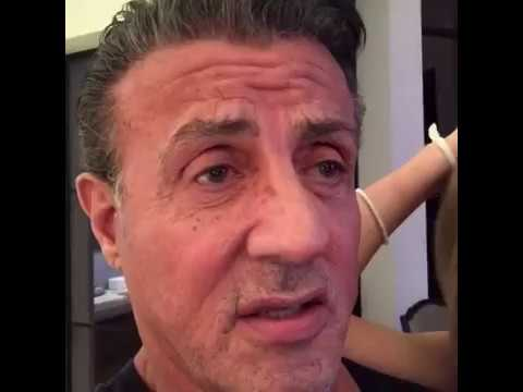 Sly Stallone   am ly putting my brother Frank up for adoption