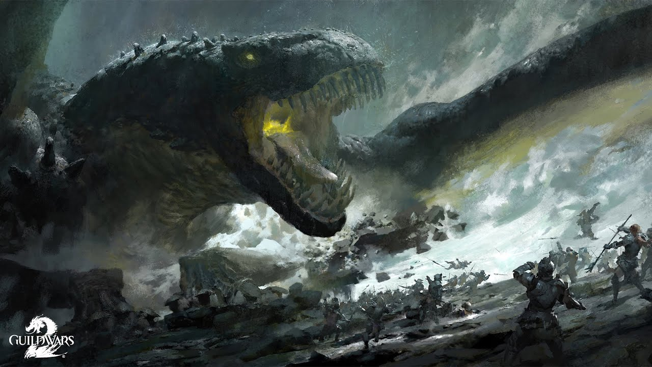 Guild Wars 2 - World Bosses - Los Dragones mas epicos del juego!!