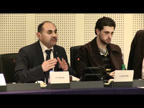 The Voice of Homs in Strasbourg [PUBLIC HEARING]