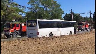 Gros départ VLHR - CCFM X4 - Incendie Luberon -  Août 2017