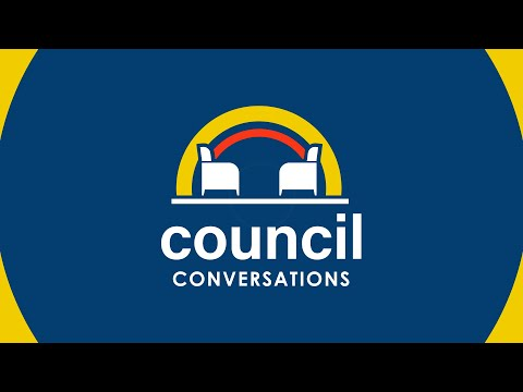 Council Conversations - Mayor Skip Hall - Our city's policing philosophy & meet Chief Piña video thumbnail