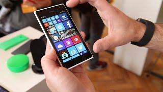 Nokia Lumia 730 hands-on