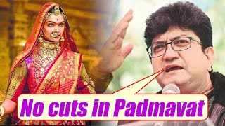 Padmavat release with 300 CUTS is fake news, says Prasoon Joshi | FilmiBeat