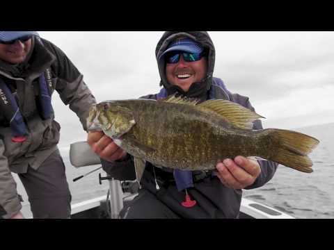 Mille Lacs SMALLMOUTH BASS with FLW Pro John Cox- Jason Mitchell Outdoors