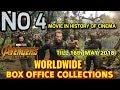 AVENGERS INFINITY WAR WORLDWIDE BOX OFFICE COLLECTION TILL 16 MAY BEATS JURRASIC WORLD