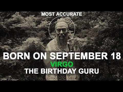 Born on September 18 | Birthday | #aboutyourbirthday | Sample