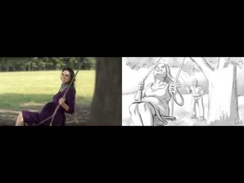 "Commercial and storyboards comparison for Reeds Jewelers ""Tree Swing"""