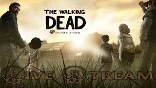 TellTale Game The Walking Dead Season One - Live Stream (PS4 HD60)