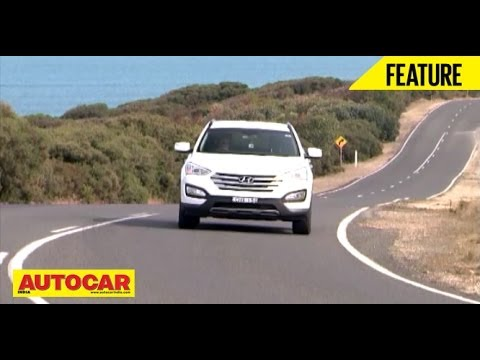 New Hyundai Santa Fe | Exclusive Drive Across Australia | Autocar India