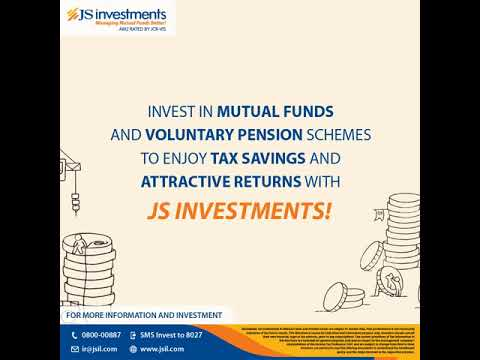 Enjoy attractive returns & tax savings with JS Investments!