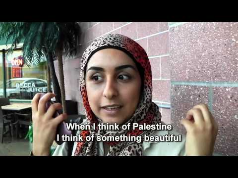 Palestinian Canadians: What does Palestine mean to you?