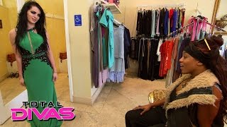 Paige goes gown shopping with Alicia Fox: Total Divas Bonus Clip, July 14, 2015
