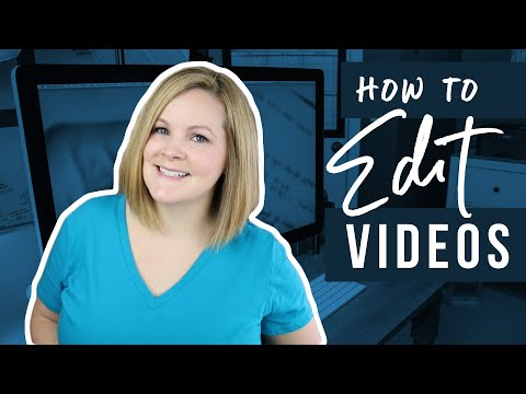 How to Edit Videos (Video Editing for Beginners)