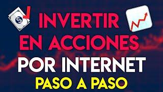Cómo invertir en acciones por internet (Principiantes)