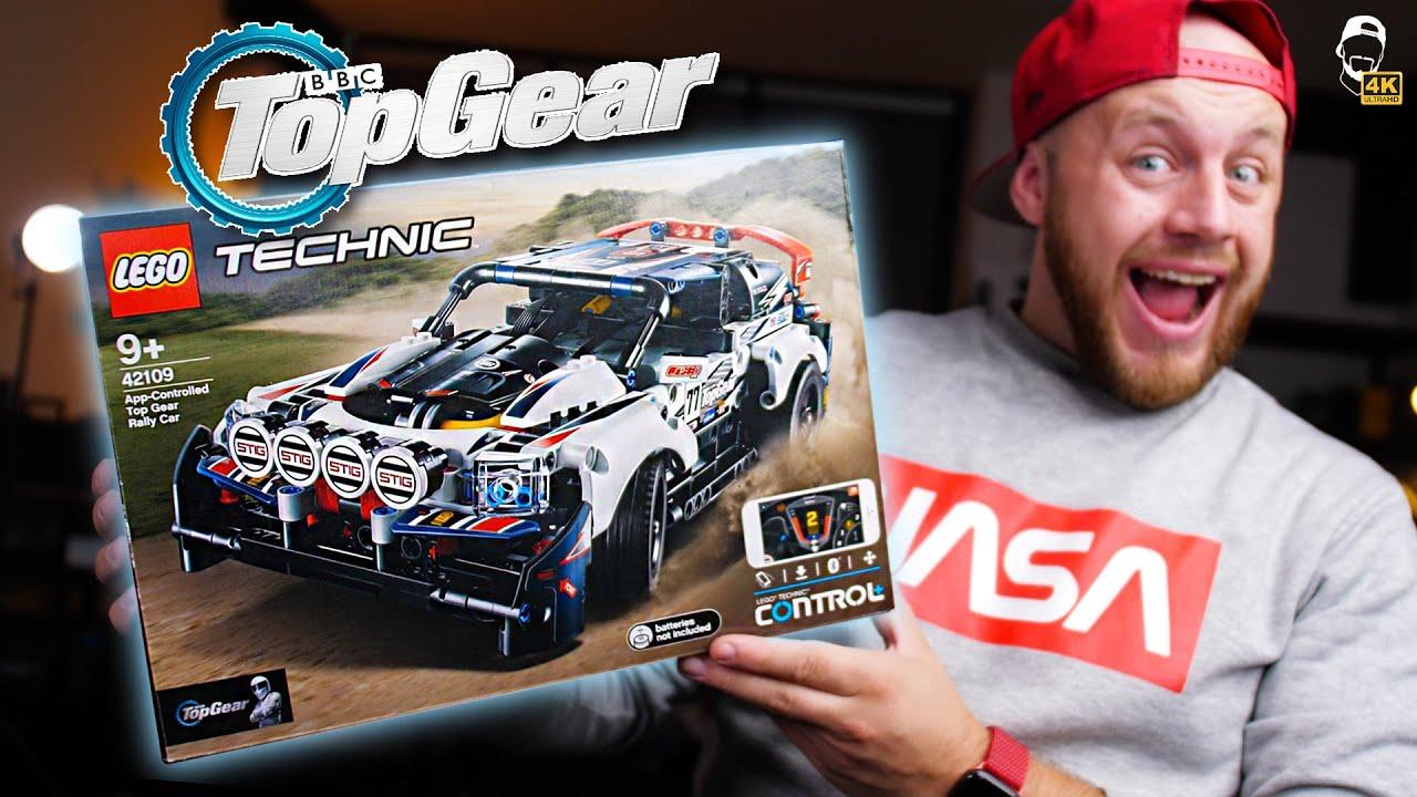 ?  Top Gear LEGO Technic Rally Car na dálkové ovládání mobilem! | WRTECH [4K]