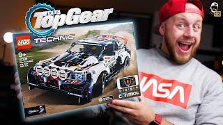 🏁  Top Gear LEGO Technic Rally Car na dálkové ovládání mobilem! | WRTECH [4K]