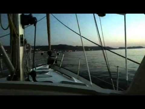 sailing in aegean sea 2014