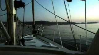 sailing in aegean sea 2014