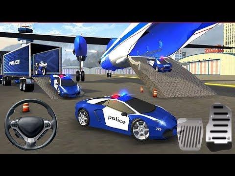 Juego de Carros para Niños - Simulador de Avión Transportador