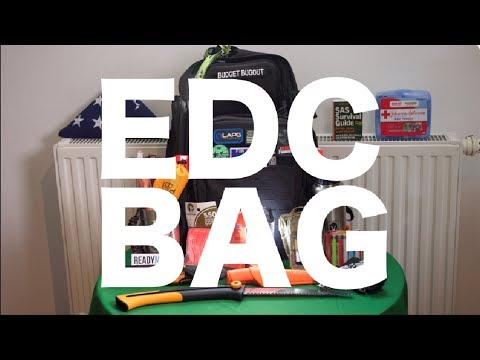 EDC Bag: What Do I Keep In My Backpack? | Everyday Carry & Survival Gear 2018 -- Budget Bugout