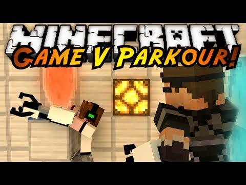 Minecraft Parkour : GAME V Part 1! (PORTAL PARKOUR!)