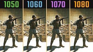 GTX 1050 Ti vs. GTX 1060 vs. GTX 1070 vs. GTX 1080 (Frame-Rate Test)