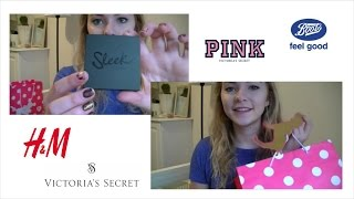 Fashion & beauty haul, H&M, PINK & Boots Thumbnail