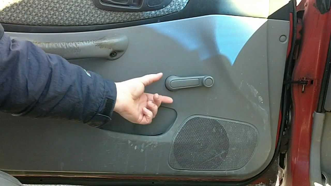 Diy Window Crank Removal Tool Youtube