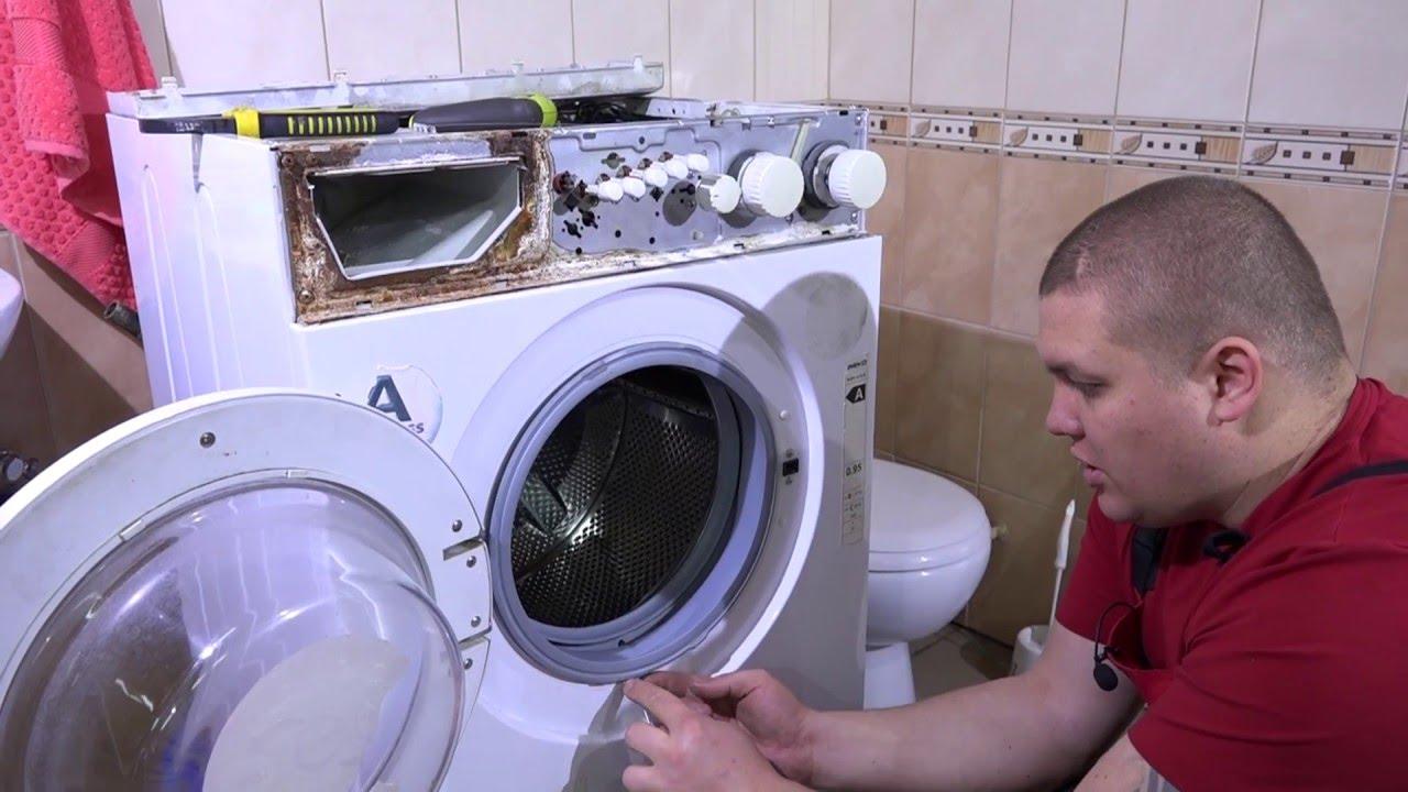Замена подшипников стиральных машин веко своими руками 464