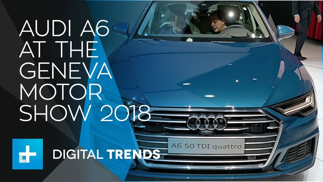 Audi A6 – First Look at Geneva Motor Show 2018