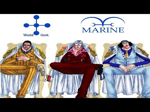 One Piece Top 25 Strongest MARINE Characters! 2018