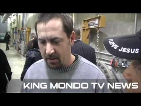 DRINKING FROM THE FLINT RIVER SAVES MONEY KING MONDO TV NEWS