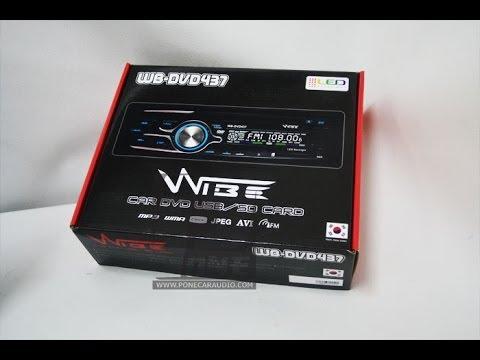 เครื่องเล่น,วิทยุ ,DVD,VCD,CD, MP3 ,USB รถยนต์ ยี่ห้อ WIBE 435,437 ราคาถูก 1,650 บาท