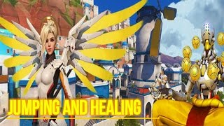 Overwatch:Staff and orbs may heal my team