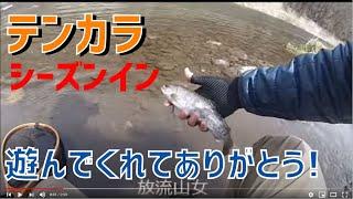 にわかなテンカラ師の一尾釣れるまで1 福島和可菜 動画 29