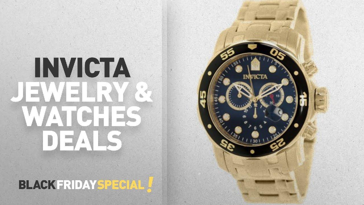 aedf1f2bbe74 Walmart Top Black Friday Invicta Jewelry Watches Deals Invicta