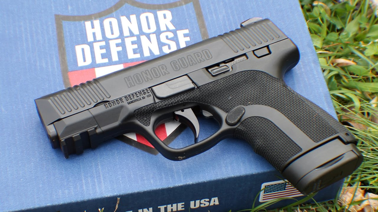 Honor Defense Honor Guard Long Slide Review - YouTube